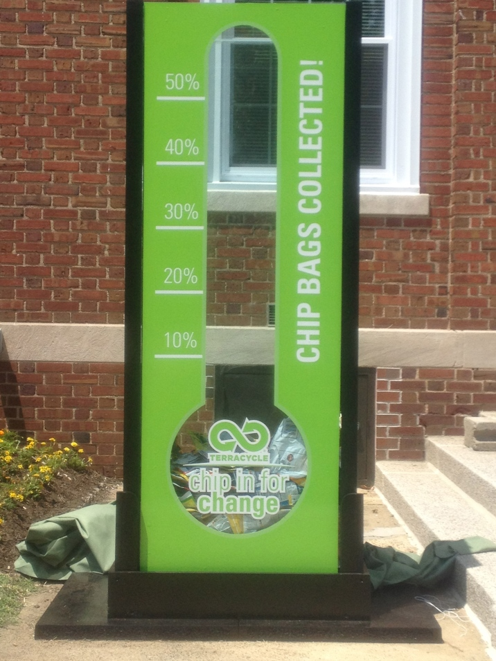 Chip in for Change Thermometer