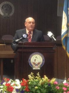 Mayor Benivengo of the Hamilton Township