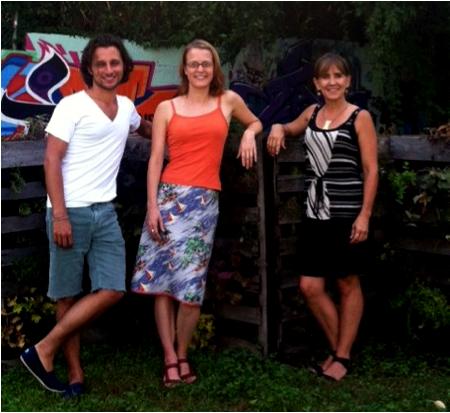 Brad, Tiffany, and Lori