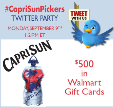 CapriSunTwtitterParty