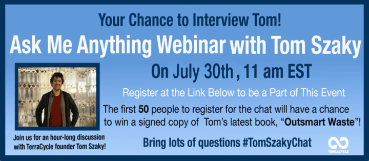 Reminder: Ask Me Anything With Tom Is Today!