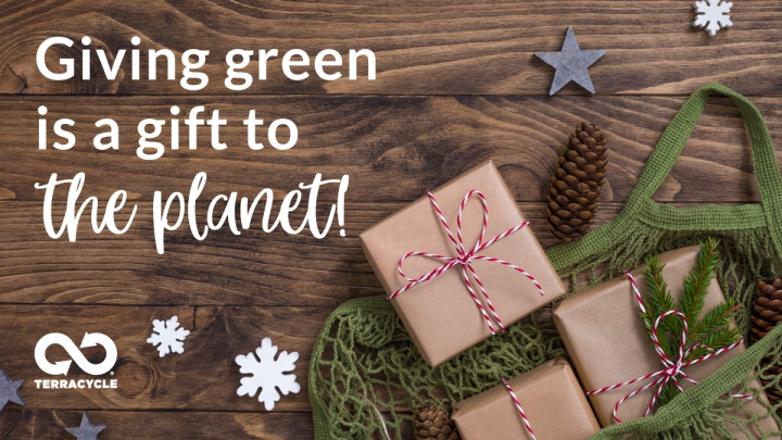 Giving green is a gift to theplanet!